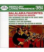 Balalaika Favorites [Audio CD] Gnutov/Ossipov Russian Folk Orch. - $10.00