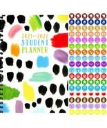 2021 - 2022 Student Academic Planner Calendar - (Spiral Bound) + 100 Sti... - $9.89