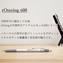 rOtring 600 2mm Drop Mechanical Pencil Matal Black Hexagon Body Holder [NEW] image 2