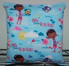 Mcstuffin Pillow HANDMADE Mcstuffin Summer Mc Stuffin Pillow Disney Dr M... - $10.49