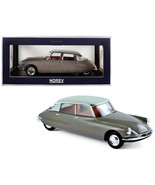 1959 Citroen DS 19 Light Brown with Carrare White Top 1/18 Diecast Model... - $142.65