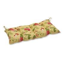 Pillow Perfect Indoor/Outdoor Risa Lemonade Swing/Bench Cushion - £40.24 GBP