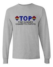 TOP cigarette rolling papers long sleeve t-shirt Zig Zag JOB Joker marijuana tee image 2