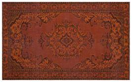 Bespoky Vintage Handwoven Kilim Rug Brown Large Size 5'6'' X 8'11'' Ft - $2,087.00