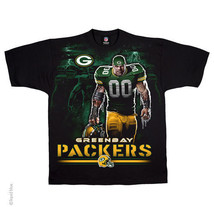 GREEN BAY PACKERS New with tags TUNNEL T-Shirt BLACK shirt NFL TEAM APPAREL - $21.99+