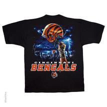 Cincinnati Bengals New With Tags Sky Helmet T Shirt Black Nfl Team Apparel - $21.99