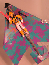Vintage 1991 GI G.I. Joe ARAH Cloudburst (v1) with Glider  - $85.40