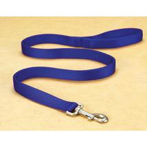 Hamilton Blue Double Thick Nylon Lead 1 In X 6 Ft 013227037322 - $28.53