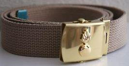 US Army EOD Beige Belt & Buckle  - $14.99