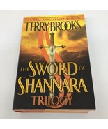The Sword Of Shannara Trilogy 25th Anniversary 2002 Hardcover Terry Brooks - $23.36