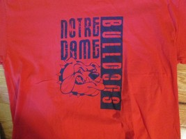 Notre Dame Bulldogs T Shirt Size XL - $2.99