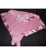 Baby Ganz Cuddle Blanket Pink Elephant Animal Satin Trim BG3410 - $34.63