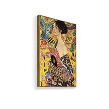 NWT Framed Canvas Wall Art for Living Room, Bedroom Gustav Klimt Canvas Prints f