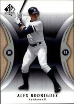2007 SP Authentic #80a Alex Rodriguez - NM-MT - $0.98