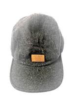 Old Navy Hat Cap Black & Brown Wool/Polyester Blend Strap Back - $17.81
