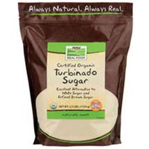Turbinado Sugar Organic, 2.5 lb by Now Foods - $6.16