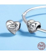 A DREAM IS A WISH 925 Authentic Silver Crystal Original Pandora Charm Br... - $9.95