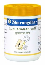 Sharangdhar Sukhasarak Vati 60 Tablets For Constipation Natural Laxative... - $9.22+