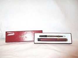 Shaeffer Red Ballpoint Ball Point W/Cartridge Pen W/Box - $8.61