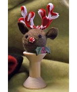 Rudy Reindeer Pattern+ Spoolkeep (pp512) JABC Just Another Button Co - $11.25