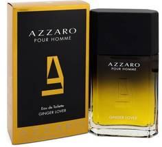 Azzaro Pour Homme Ginger Love Cologne 3.4 Oz Eau De Toilette Spray image 2