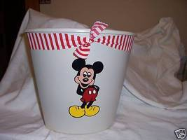 Mickey mouse bathroom wastebasket - $12.67