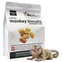 Exotic Nutrition Monkey Biscuits - Healthy Crunchy Biscuit Treat for Pra... - $39.99