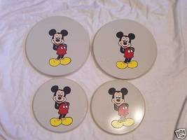 Mickey mouse burner covers set of 4 - $14.55