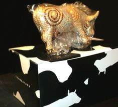 CowParade A Starry Night In Texas Item # 7255 Westland Giftware AA-191893 Vinta image 7