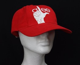 Glee Fox Musical Television Show Crew Member Baseball Hat Red Cotton Adj... - $18.66