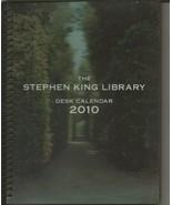 VINTAGE 2010 Stephen King Library Desk Calendar - $19.79