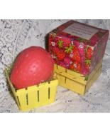 Avon Vintage 1969 Strawberry Fair Perfumed with Basket Soap Dish   - $8.00