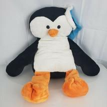 "Animal Adventure Stuffed Plush Big Huge Large Penguin Blue Hat Cap 2017 18"" 27"" - $79.19"
