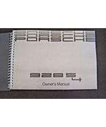 1989 Porsche 928 s4 Owners Manual Parts Service 928s4 New factory Reprint - $98.99