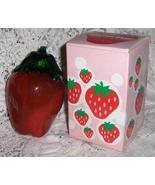 Avon Vintage The Big Strawberry Decanter Bath Foam - $8.00