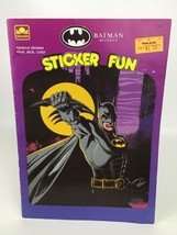 Batman Returns Sticker Fun Golden Books Vintage 1992 Coloring Book Precu... - $16.78