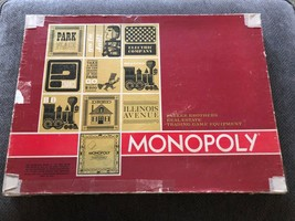 Vintage Monopoly Game 1964 Red Box - $22.28