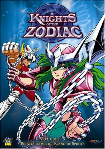 Knights of the Zodiac: Priates From The Island of Spirits Vol. 05 DVD Brand NEW!