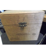 Old Bayuk Philadelphia Longfellow Panatella Extra Wooden Cigar Box w tax... - $68.00