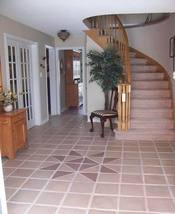 """3 OLDE COUNTRY CONCRETE TILE MOLDS TO MAKE 100s OF (9x9x1"""") FLOOR TILES - #900 image 4"""
