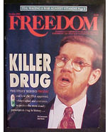 FREEDOM-NOV/DEC 1993 SCIENTOLOGY MAG-KILLER DRUG-PROZAC - $4.97