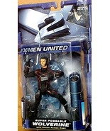 Toy Biz Year 2003 Marvel X-Men United Action Figure - WOLVERINE  - $31.90