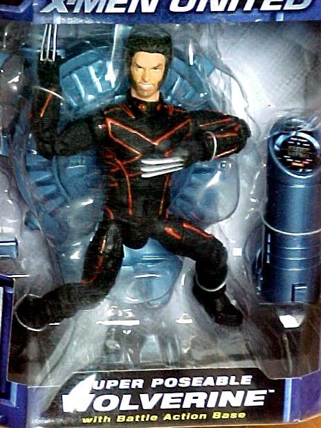 Toy Biz Year 2003 Marvel X-Men United Action Figure - WOLVERINE