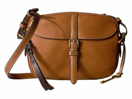 New Fossil Women Kendall Leather Crossbody Bags Variety Colors - $85.35