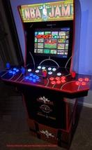Arcade1up NBA JAM 4 player Raspberry pi 3 Mod kit. Add more games. - $279.99