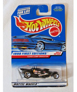 Hot Wheels Mattel 1998 First Editions Super Comp Dragster #22 of 40 cars... - $23.75