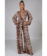 Just For You Leopard Print Jumpsuit - $39.99