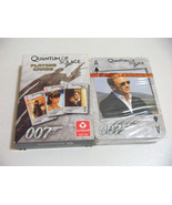 Quantum of solace 007 Movie James Bond PLAYING CARDS DECK POKER CARDS - $7.91