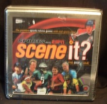 Scene it? Sports Powered by ESPN DVD Game in Metal Collector Tin!! NIP 2007 - $17.99