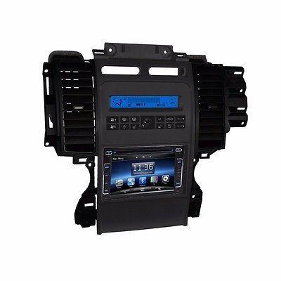 "6.2"" DVD Navigation Touchscreen Multimedia Radio for 2012 Ford Taurus"